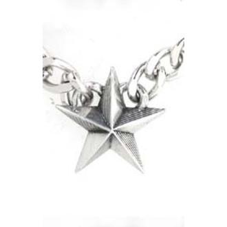 obojok Nautical Star Cuban Pendant - ALCHEMY GOTHIC, ALCHEMY GOTHIC