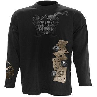 tričko pánske s dlhým rukávom SPIRAL - Dead Mans Hand, SPIRAL