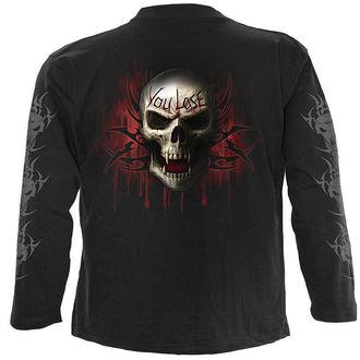tričko pánske s dlhým rukávom SPIRAL - Game Over, SPIRAL