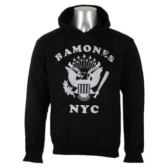 tielko pánske RAMONES - LOGO SILVER DIAMANTE - WHITE - AMPLIFIED