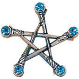 prívesok Pentagram of Swords - EASTGATE RESOURCE, EASTGATE RESOURCE