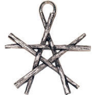 prívesok Pentagram of Wands - EASTGATE RESOURCE, EASTGATE RESOURCE