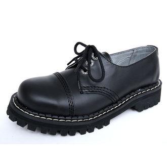 topánky KMM 3dírkové - Black