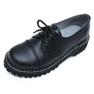 topánky KMM 3dírkové - Black - 030