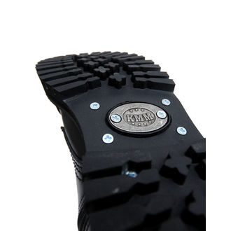 topánky KMM 10dírkové - Black