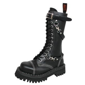 topánky KMM 14dírkové - Black - 142/PZM