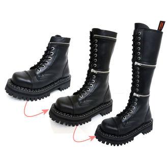 topánky KMM 18dírkové - Black - 201/2-ZM