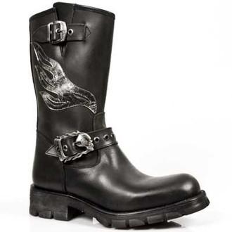 topánky NEW ROCK - 7601-S1 - Itali Negro