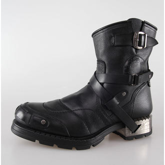 topánky NEW ROCK - MR004-S1 - Motorock Negro