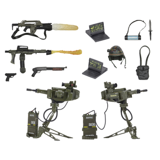 dekorácia (príslušenstva Alien) Aliens - USCM Arsenal Weapons, Alien - Vetřelec