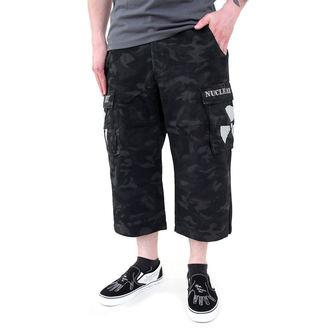 kraťasy pánske Black Camouflage - NUCLEAR BLAST, NUCLEAR BLAST