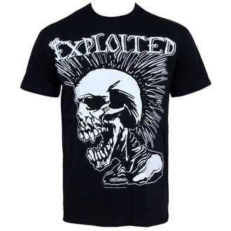 tričko pánske Exploited - Mohican Skull, RAZAMATAZ, Exploited