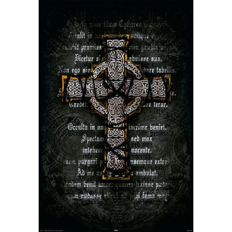 plagát Gothic Cross - Rolled, Reinders