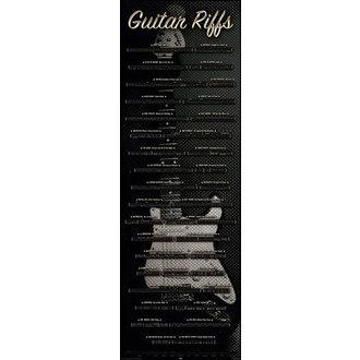 plagát Guitar - Riffs, Reinders