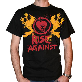 tričko pánske Rise Against - Fist Crest - Black, KINGS ROAD, Rise Against
