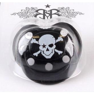 cumlík silikónový ROCK STAR BABY - Pirate Black - 90030