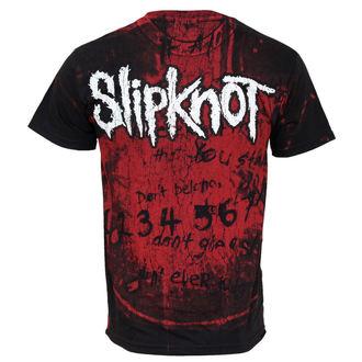 tričko pánske Slipknot - debut All Over, BRAVADO, Slipknot