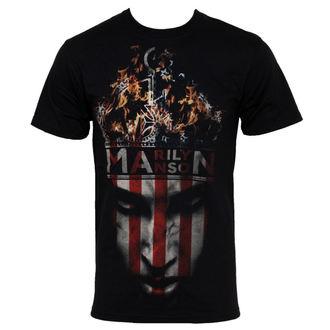 tričko pánske Marilyn Manson - Crown - BRAVADO USA, BRAVADO, Marilyn Manson
