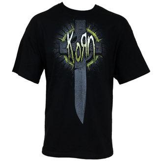 tričko pánske Korn - Cross Knife, BRAVADO, Korn