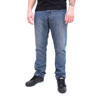 nohavice pánske -jeansy- SLIM FIT - GLOBE - Sixx, GLOBE