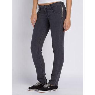nohavice dámske VANS - Skinny Ankle Denim - Charcoal