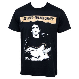 tričko Lou Reed - Transformer, PLASTIC HEAD, Lou Reed