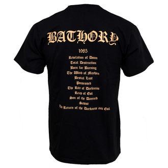 tričko pánske Bathory - The Return, PLASTIC HEAD, Bathory