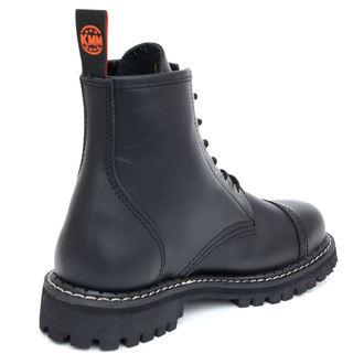 topánky KMM 6dírkové - Black, KMM
