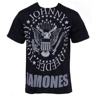 tričko pánske Ramones - Hey Ho Lets Go - LIQUID BLUE, LIQUID BLUE, Ramones