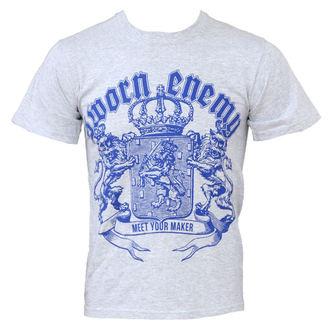 tričko pánske Sworn Enemy - Crest - Sports Grey, Buckaneer, Sworn Enemy