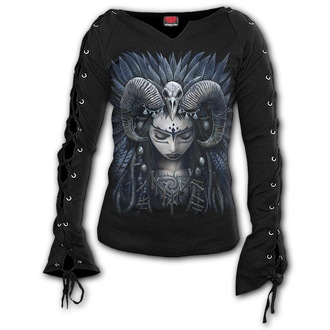 tričko dámske s dlhým rukávom SPIRAL - RAVEN QUEEN, SPIRAL
