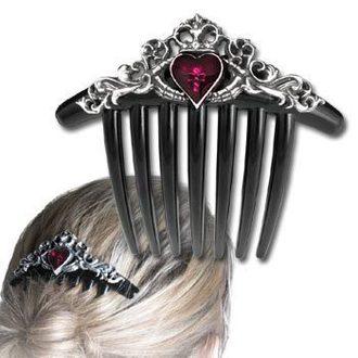 hrebienok (sponka) do vlasov Claddagh Comb - ALCHEMY GOTHIC, ALCHEMY GOTHIC