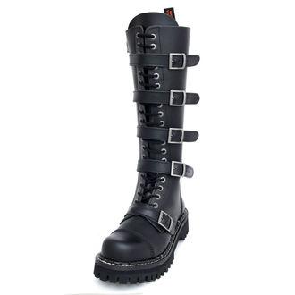topánky KMM 20dírkové - Black Monster 5P, KMM
