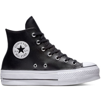 topánky CONVERSE - Chuck Taylor All Star - Lift Black / Black / White, CONVERSE