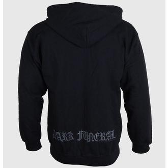mikina pánska sa zipsom Dark Funeral - Logo, RAZAMATAZ, Dark Funeral