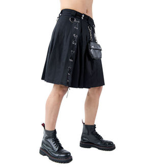 kilt pánsky Aderlass - Eye Kilt Denim Black, ADERLASS