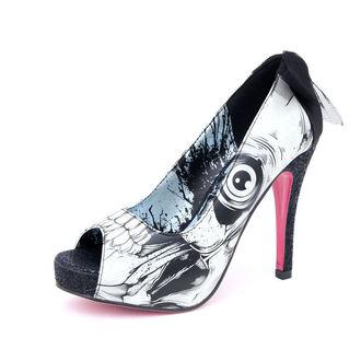 topánky dámske -črievice- IRON FIST - Bonebreaker Platform - NUDE