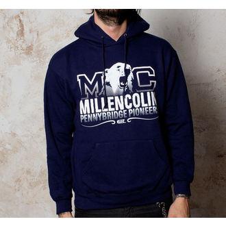 mikina pánska Millencolin - Bear Logo - Navy, Buckaneer, Millencolin