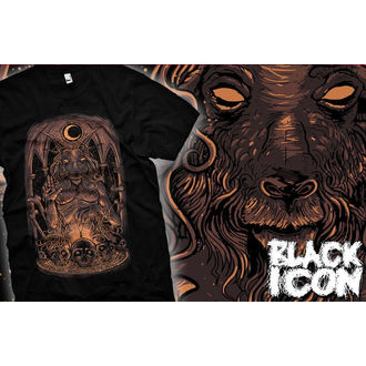 tričko pánske BLACK ICON - Baphomet, BLACK ICON