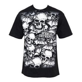 tričko pánske Avenged Sevenfold - A/O White Deathbats, BRAVADO, Avenged Sevenfold