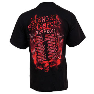 tričko pánske Avenged Sevenfold - Flame Reaper Limited Tour, BRAVADO, Avenged Sevenfold