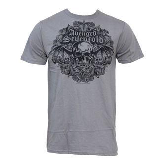 tričko pánske Avenged Sevenfold - Scrolled 30/1, BRAVADO, Avenged Sevenfold
