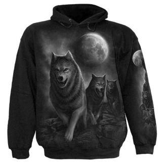 mikina pánska SPIRAL - Wolf Pack Wrap, SPIRAL