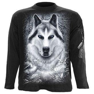 tričko pánske s dlhým rukávom SPIRAL - White Wolf - TR324700
