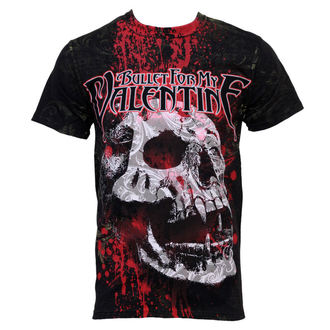 tričko pánske Bullet For My Valentine - Bloodskull - Celopotlač, BRAVADO, Bullet For my Valentine