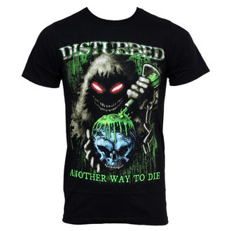 tričko pánske Disturbed - Toxic Globe, BRAVADO, Disturbed