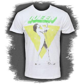 tričko pánske Queen - Freddy Sings, BRAVADO, Queen