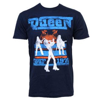tričko pánske Queen - Tour 76, BRAVADO, Queen