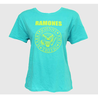 tričko dámske Ramones - Markys Seal - Bledomodrá, BRAVADO, Ramones