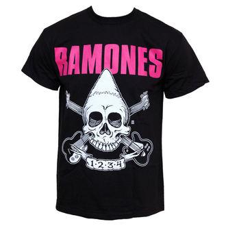 tričko pánske Ramones - Pinhead Skull, BRAVADO, Ramones